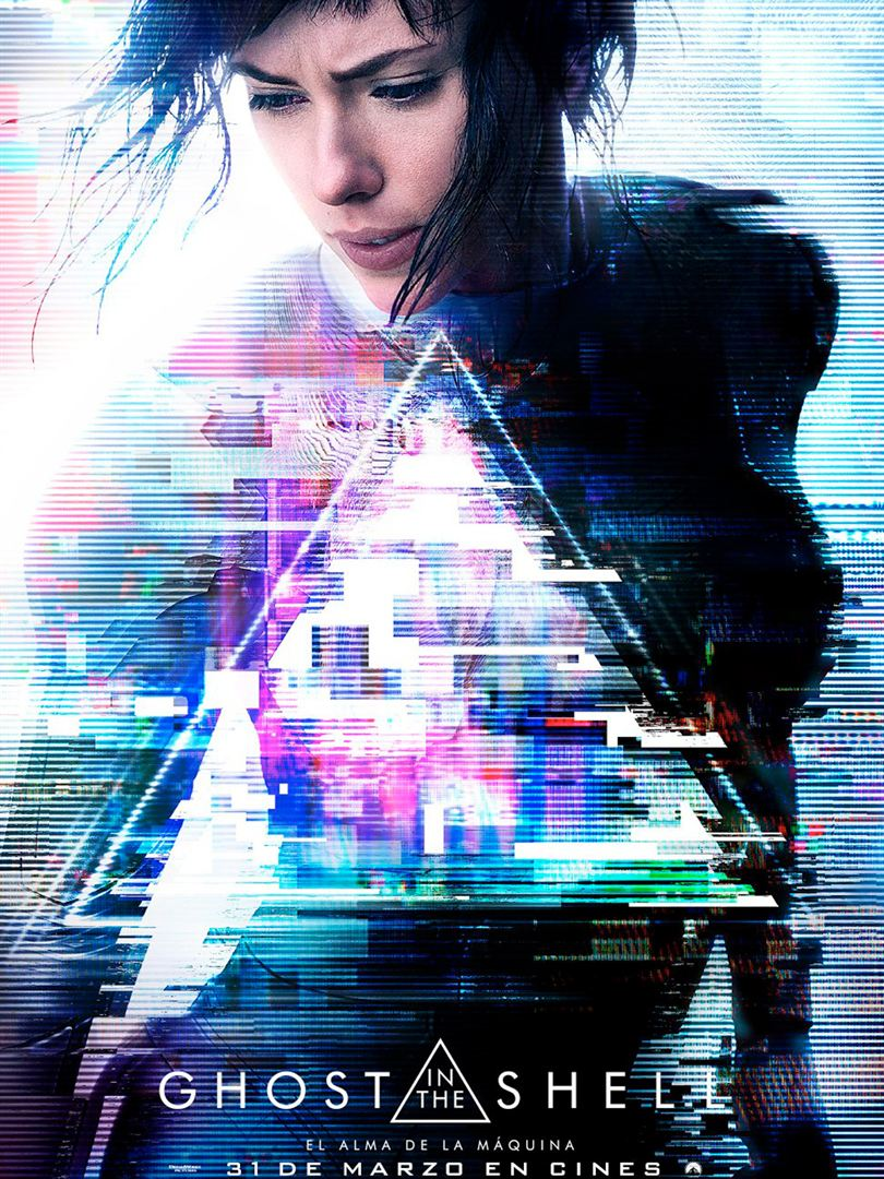 Vente al preestreno de GHOST IN THE SHELL en Madrid