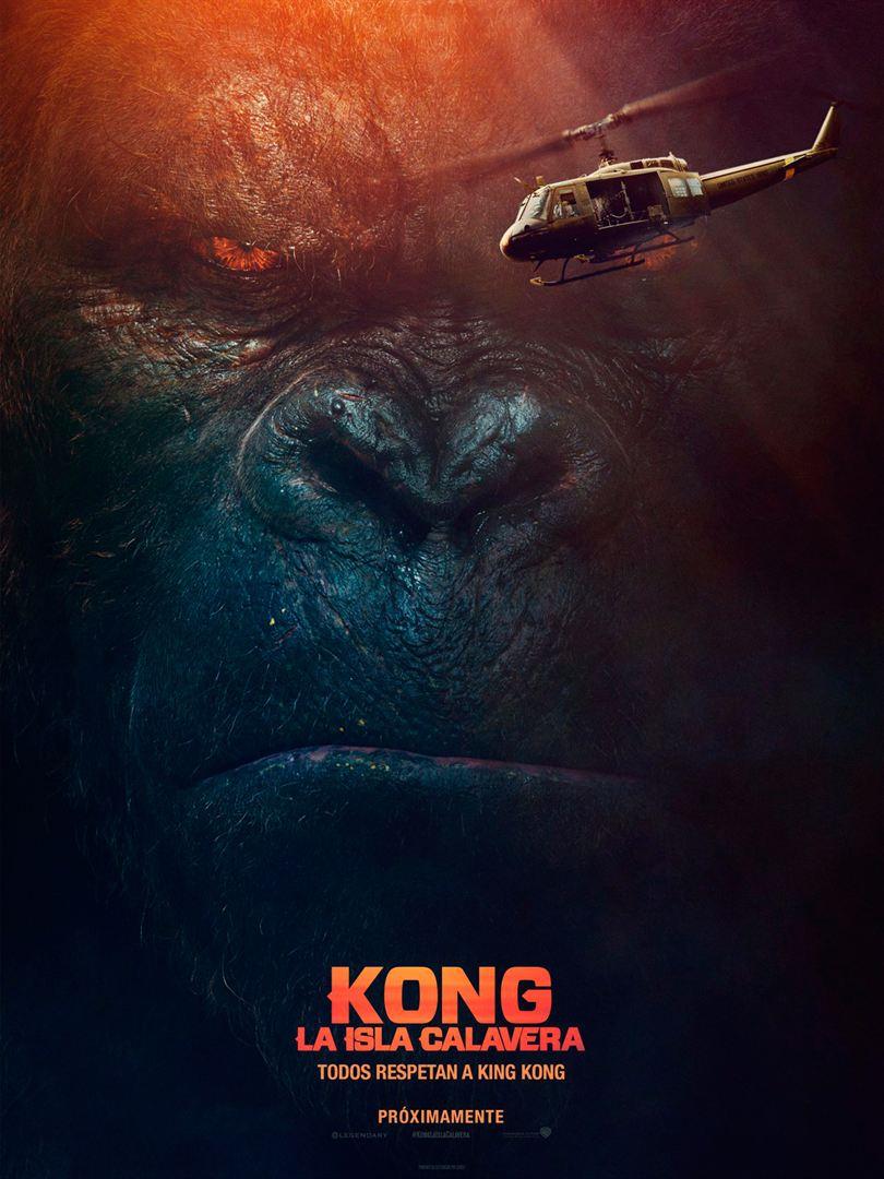 Kong la isla calavera poster