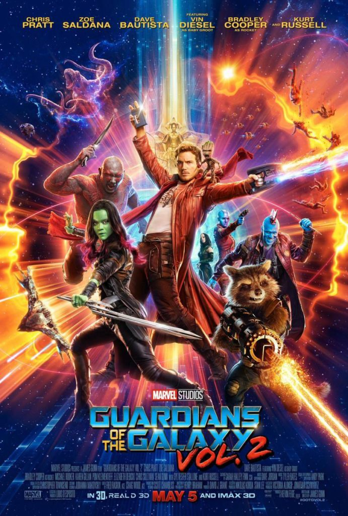Guardianes de la galaxia vol2 CARTEL