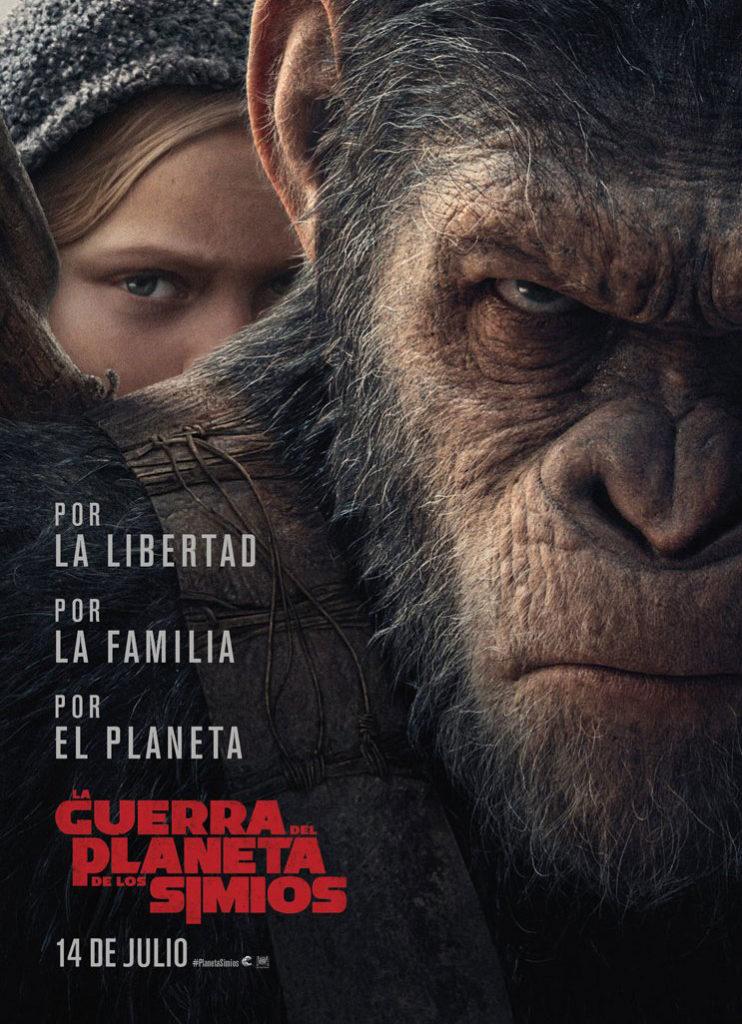La guerra del planeta de los simios CARTEL