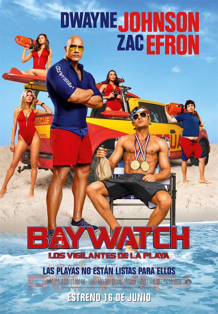 Baywatch Los vigilantes de la playa poster 1