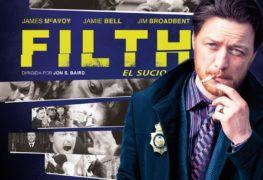 Filth, el sucio poster